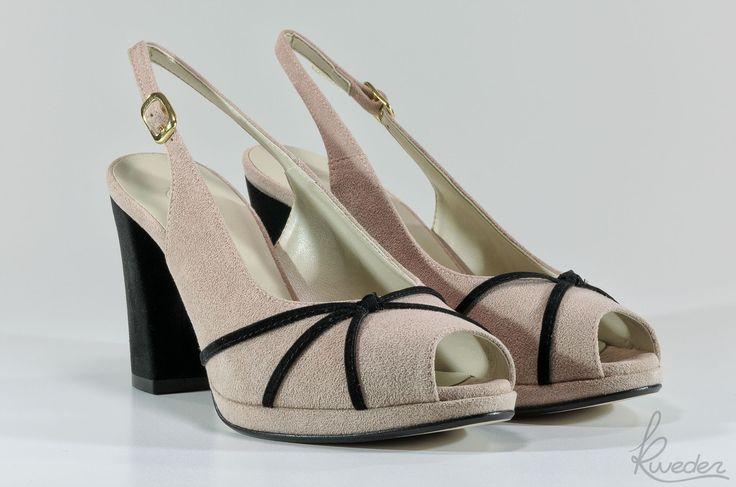 Chanel peep toe Macallè - Vegan Macallè chanel peep toe - Vegan - Made in Italy - Kweder®