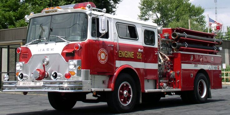 "Bryan Ohio Engine 22 ""Mack Attack"" formerly of FDNY."