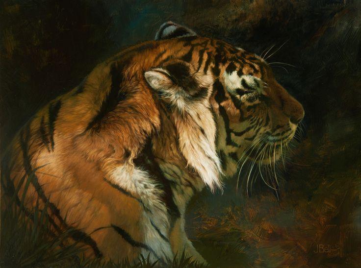 Tiger Shadows,   Julie Bell