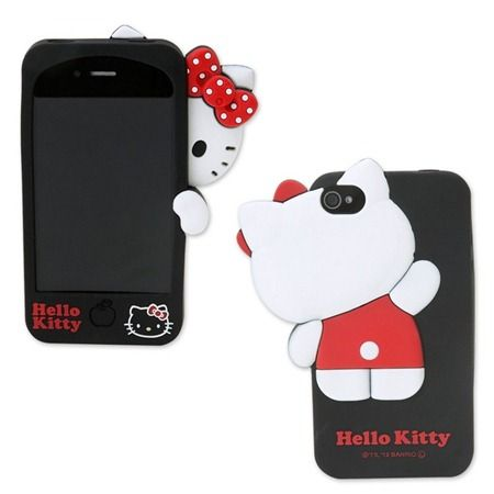 Hide and Seek Hello Kitty iPhone Case