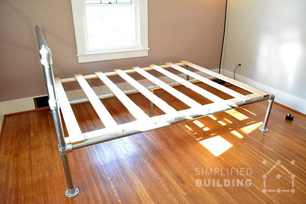 How To Build A Bed Frame The Easy Way Simplified Building