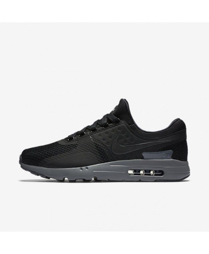 Nike Air Max Zero Black/Dark Grey Unisex Shoe   Nike Air Max Zero Unisex  Shoe   Pinterest   Air max, Black dark and Unisex