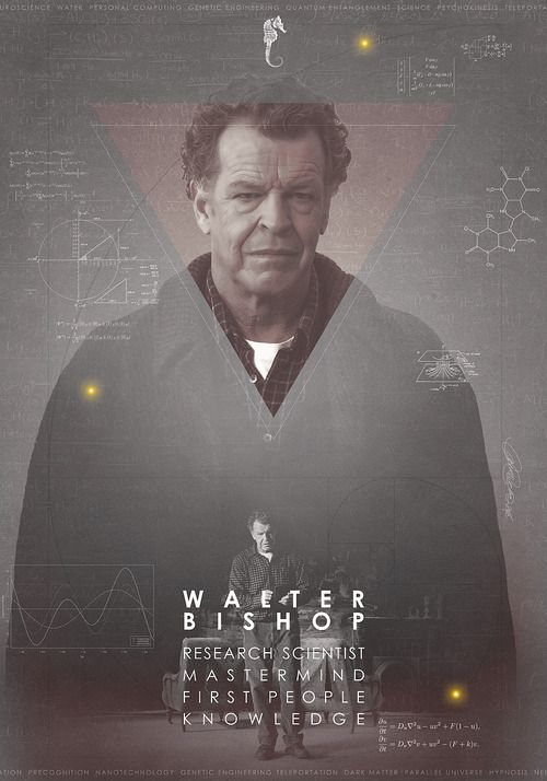 Walter Bishop,for he is Beautiful-It is time for Fringe, movie, second, we need more.