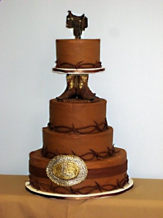 country grooms cake idea