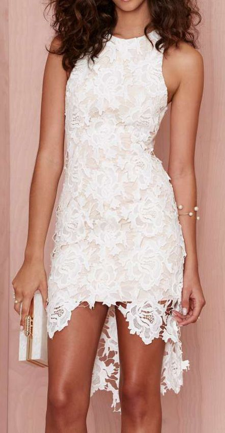 Keepsake I Will Wait Lace Dress
