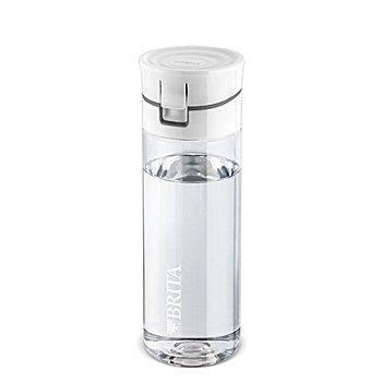 BRITA Fill Water Filter Bottle grey 0.6 l + 4 Filter Discs