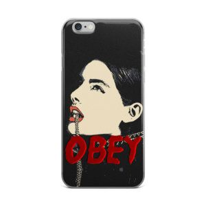 Bdsm Slave Girl Fetish Erotic OBEY Created by Casemiro Arts This sleek and scratch-resistant case will fit your phone perfectly and keep it safe from the outside world