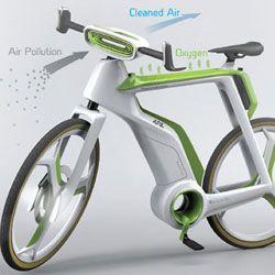 This Bike Will Purify the Air : DNews