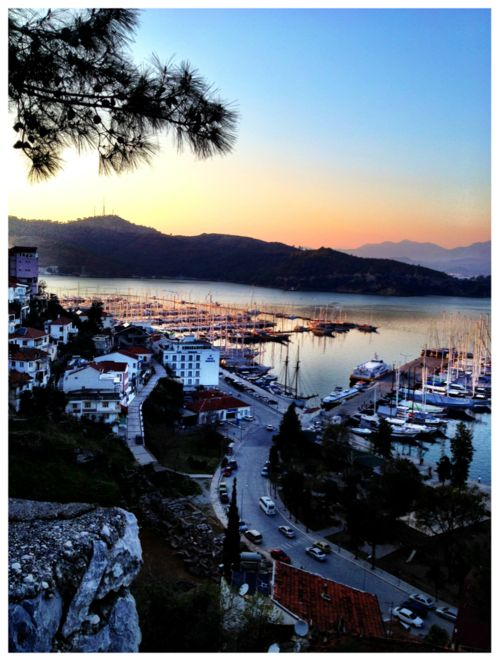 The town of Fethiye, Turkey.