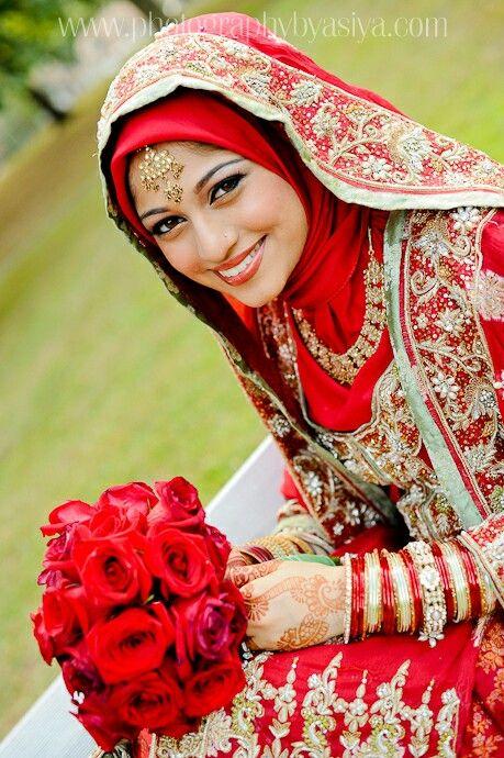 Hijabi bride! :-)