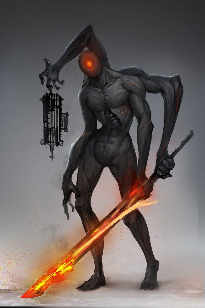 monster, Anima 08 on ArtStation at https://www.artstation.com/artwork/l6QLG