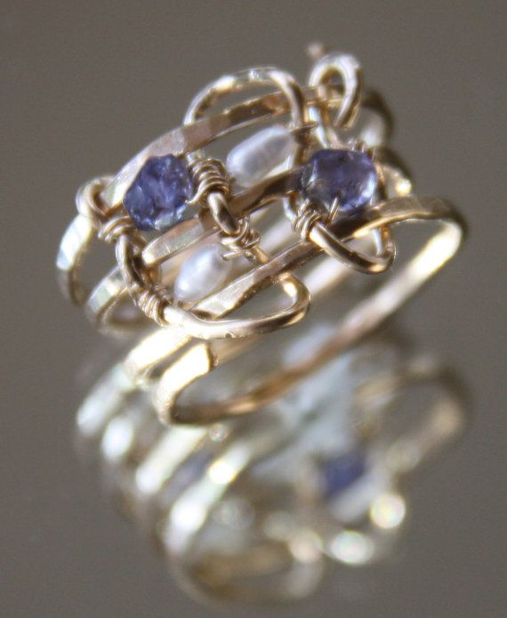 Gold wrap ring via Etsy