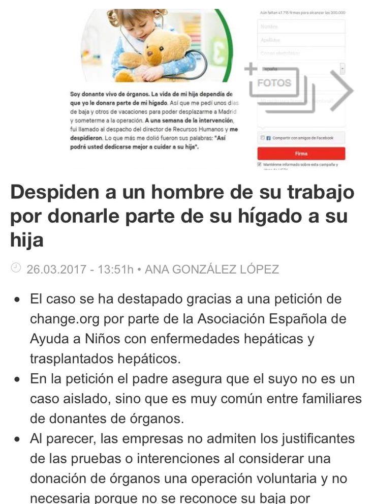 Lo despiden por donar parte del higado a su hija http://www.abc.es/sociedad/abci-donantes-vivos-organos-reclaman-baja-similar-maternidad-201703272124_noticia.html
