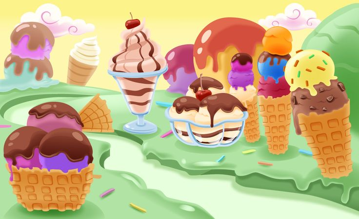 Ice Cream Land We Think It S The Most Delicious Land In