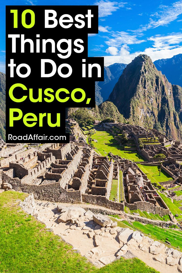 Click pin to discover the best things to do in Cusco, Peru with our comprehensive travel guide.