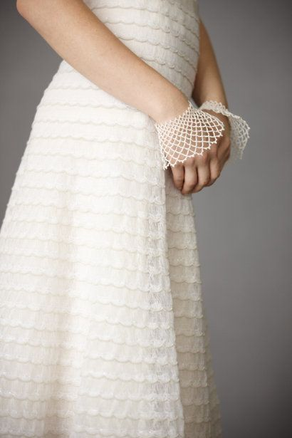 Ivory Continuum Cuffs   BHLDN