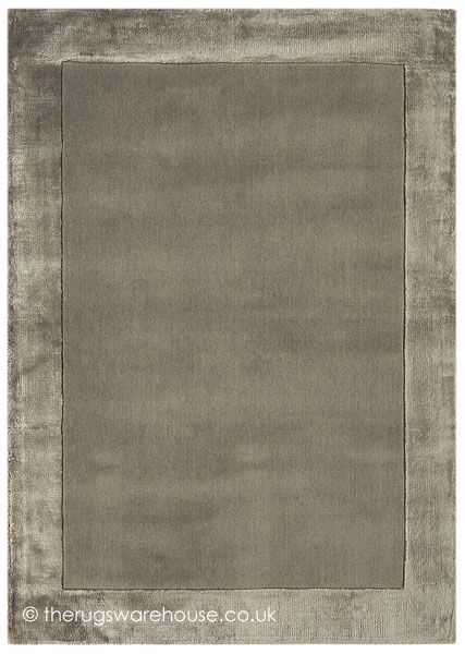 Ascot Taupe Rug, a hand-tufted wool (inner section) & viscose (border) hand-tufted rug in shades of taupe (available in 4 sizes, from £79.00) http://www.therugswarehouse.co.uk/modern-rugs3/ascot-rugs/ascot-taupe-rug.html #interiors #rugs