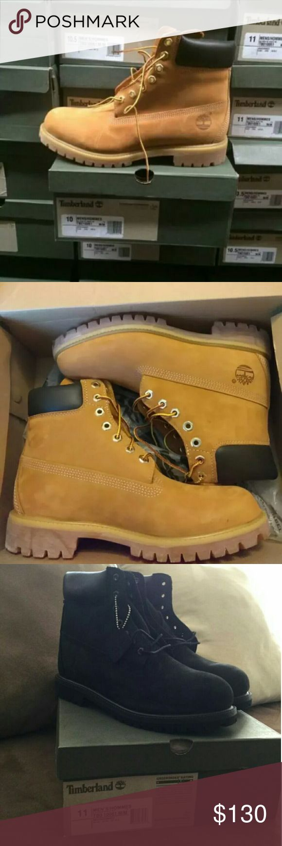 Premium 6' Timberland boots Selling the original 6' Premium  Timberland boots  Brand new in Og box  Retail $189 after tax $205 and that's ALL YEAR ROUND  ALL SIZES  Check your local shoe store to see the price your self  Men 7 -12 $140 Youth 5-6.5 $100 Serious Buyers ONLY MSG ME! Timberland Shoes Winter & Rain Boots
