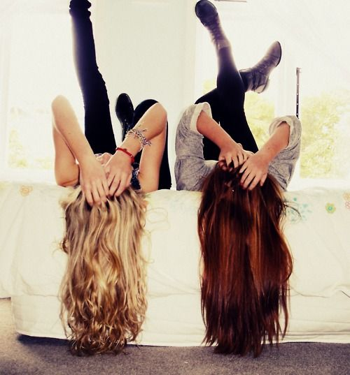 friendship.This is @Britani Mattson and me except I'm not blonde anymore