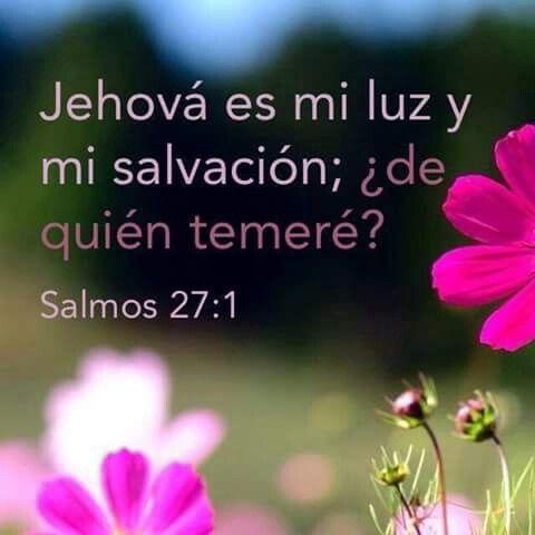 25+ best ideas about Salmo 27 1 on Pinterest   versículos de la ...