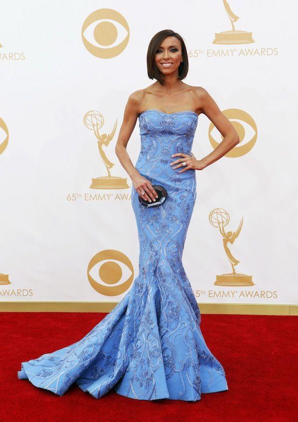 Giuliana Rancic Emmys 2013 Red Carpet PHOTOS, E! News Host Stuns in Blue Dress