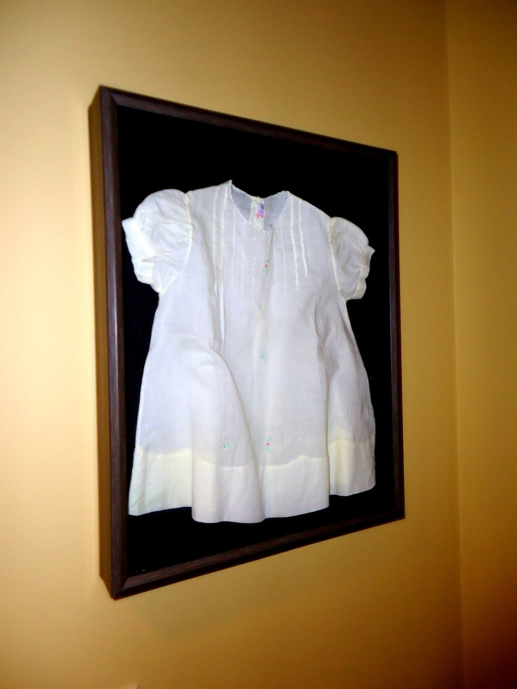 19 Best Images About Christening Gown Shadow Boxes On