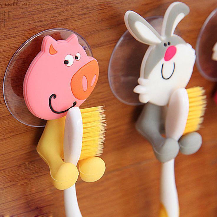 Держатель зубной щетки на присосках