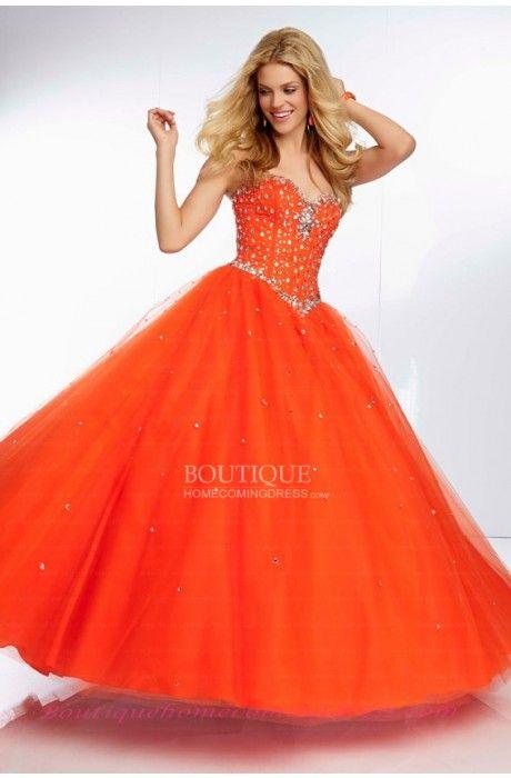 26 best orange prom dresses images on pinterest orange