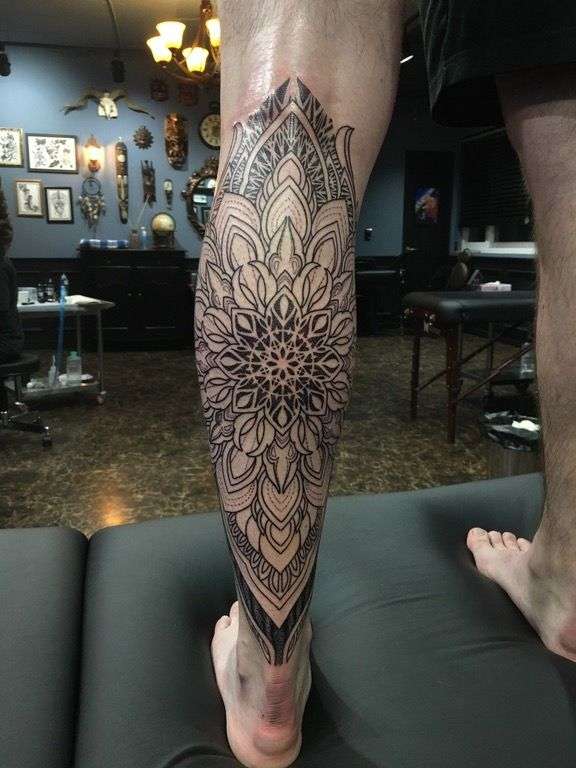 First Session Mandala Tattoo For Men