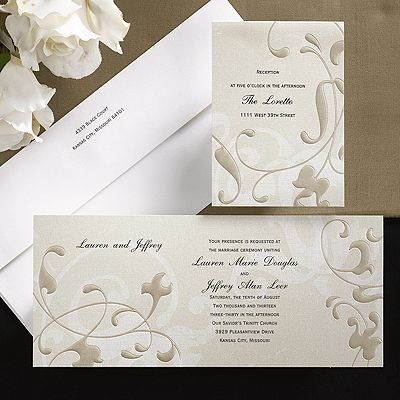17 Best Images About Brown Wedding Invitations On Pinterest Ink Color Taup