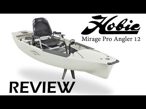 Hobie Kayak Review - Mirage Pro Angler 12 - YouTube