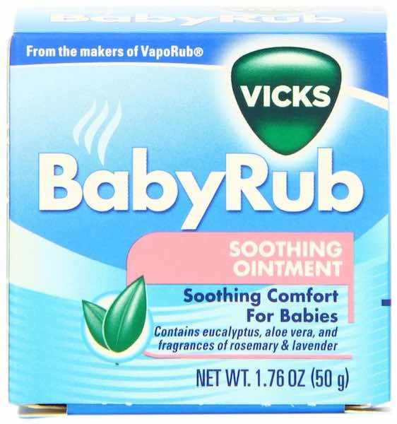 Vicks Baby Rub $1.00 Off With Printable Coupons!