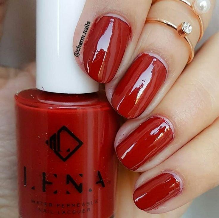 Breathable Halal Nail Polish - Supermodel - LE123 by LENA