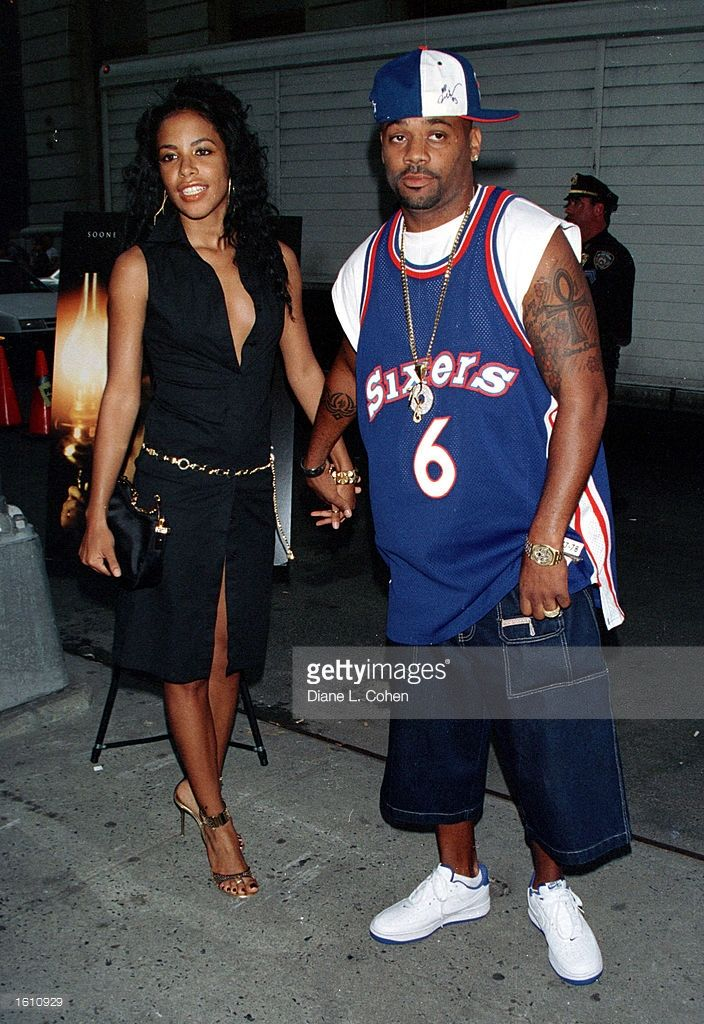 Actress/singer Aaliyah and her boyfriend Damon Dash attend the premiere of 'The Others' August 2, 2001 in New York City. Aaliyah and eight others died in a plane crash August 25, 2001 in Marsh Harbour, Bahamas.