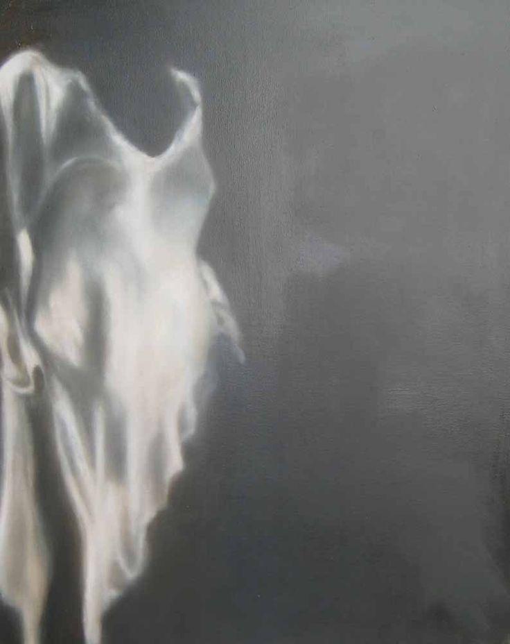 Shameless by Maria Patrizi, oil on canvas artwork