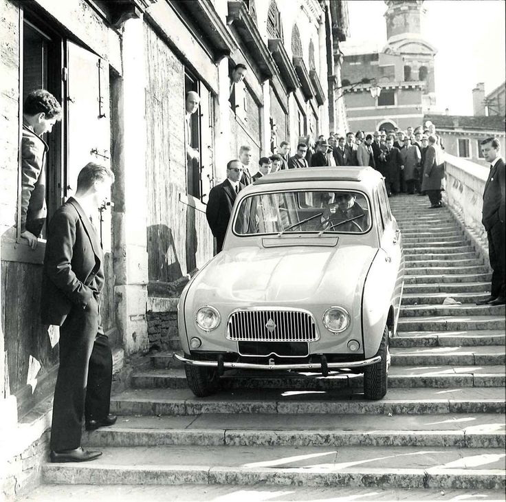 renault 4L in 1962