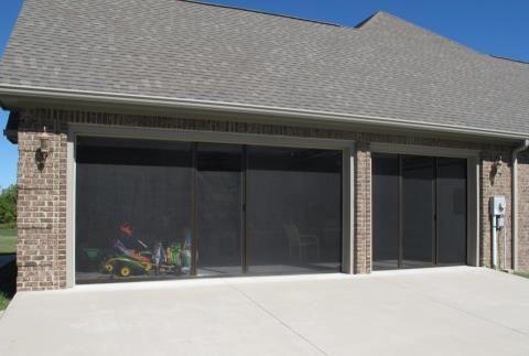 Elegant Lifestyle Garage Door Screen