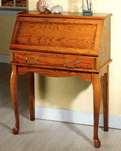 Antique Secretary Writing Desk | Antique Writing Desks: Oak drop-leaf  secretary desk- - The 25+ Best Antique Writing Desk Ideas On Pinterest Writing