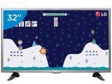 """TV LED 32"""" LG 32LH515B - Conversor Digital 1 HDMI 1 USB-de R$ 1.499,00 por R$ 1.199,00  em até 10x de R$ 119,90 sem juros no cartão de crédito  ou R$ 1.139,05 à vista (5% Desc. já calculado.)"""