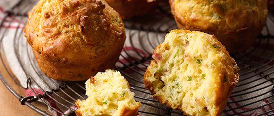 Bega Cheese | Bega Recipes | Bacon  Cheese Muffins