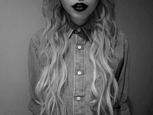Lätt vågigt hår = tjusigt