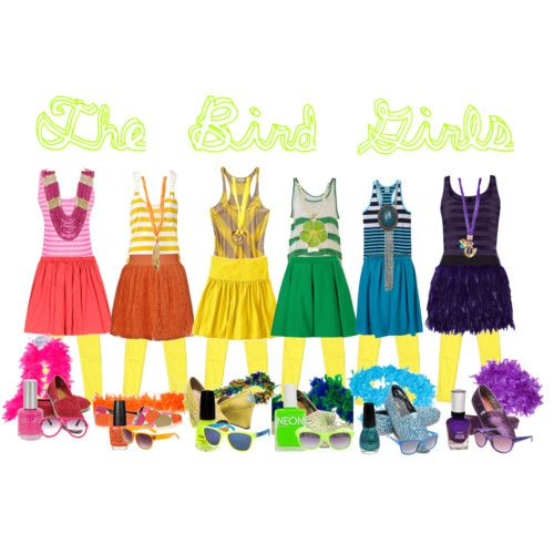 The Bird Girls - Seussical the Musical l00kingup.tumblr.com sweetestlover.polyvore.com