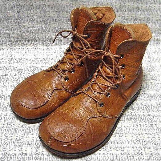 Daita Kimura The Old Curiosity Shop  Fat Boots UK8 England    #daitakimura#curiosity#bigfoot#leathershoes#boots#theoldcuriosityshop#trickers#theoldcuriosityshopオールドキュリオシティショップ#ダイタキムラ