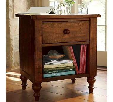 bedside tables mahogany stain and nightstand ideas on pinterest. Black Bedroom Furniture Sets. Home Design Ideas