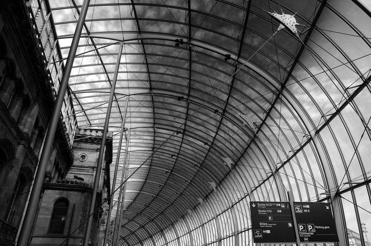 Verrière de la gare de Strasbourg de Alain Tigoulet