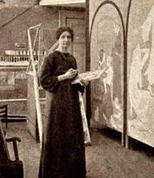 [tab:Биография]...Wilhelmina Cornelia Drupsteen (1880-1966) - голландский дизайнер, иллюстратор, преподаватель...Вильгельмина с детства проявила способности к рисованию; в 1900 году она получила педагогическое образование, после чего училась дек...