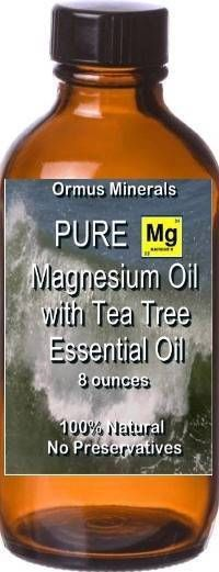 Magnesium oil with Tea tree Essential oil 8oz $25 Starting bid and $35 to buy it now