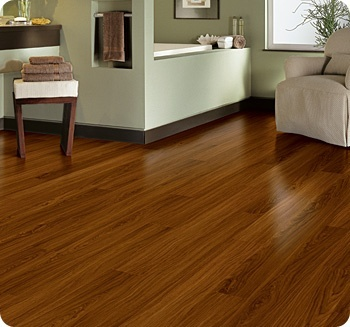 Vinyl Plank looks just like hardwood-love this