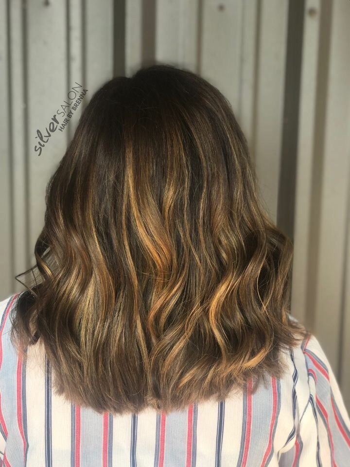 From Dreads To A Gorgeous Lob Love This Transition And All That Pretty Balayage Hair By Brenna Balayage Hair Color Best Hair Salon