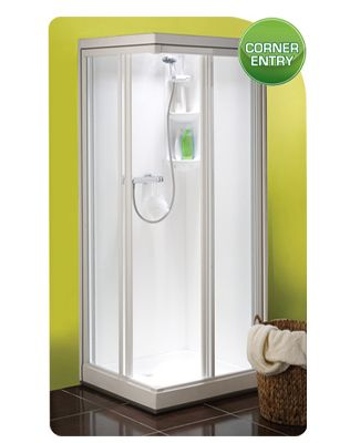 Kubex Kingtson Leak Proof Pre - Assembled Watertight Shower Cubicle with Pivot Door 785mm x 705mm The Kingston Range of shower cubicles offer leak Shower Pod
